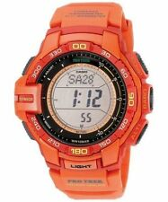 Casio Men's Protrek Tough Solar Triple Sensor Sports Watch PRG270-4A
