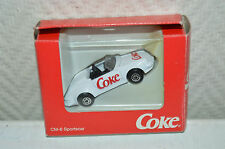 PORSCHE 911 SPEEDSTER 1991 COCA COLA 1/60 EDOCAR 1994 DIE-CAST VEHICLES NEUF