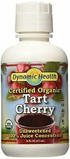 Dynamic Health Certified Organic, Tart Cherry Juice Concentrate, 16 Ounce