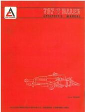 ALLIS CHALMERS BALER 707-T OPERATORS MANUAL