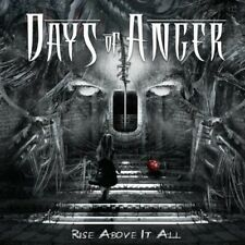 Rise Above It All - Days Of Anger (2013, CD NEUF)