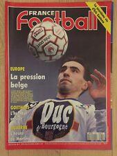 Revue Magazine France Football N*2435 OM 08 Décembre 1992 Saison 92/93 Martins