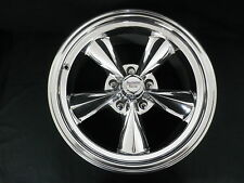 MUSTANG MAG WHEELS SET OF 4  2 X 17 X 7- 2 X 17 X 8 INCH POLISH INC LUG NUTS