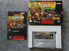 Super Nintendo SNES - Donkey Kong Country 2 - in OVP mit Anleitung - Spiel