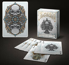 Bicycle Steampunk Bandits Playing Cards - White (Limited Edition 2500 Decks)