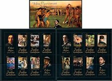 Central Africa Art Nude Impressionist France Edgar Degas complete MNH stamp set