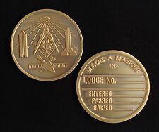 Masonic Medallion Pocket Coin (MM-MD)