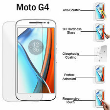 Genuine Gorilla Tempered Glass Screen Protector For Motorola Moto G4 4th Gen.