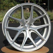 "20X10"" AVANT GARDE M580 SILVER CONCAVE WHEELS RIMS SET FOR AUDI A7 S7 2010-2015"