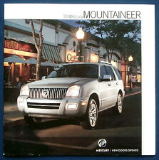 Prospekt brochure 2009 Mercury Mountaineer (USA)