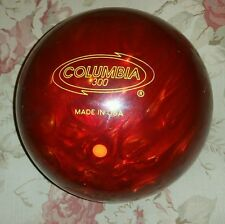RARE Eruption Columbia 300 Orange Dot 16 lbs NOS UNDRILLED Bowling Ball  Vintage
