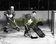 RED KELLY & JOHNNY BOWER 8X10 PHOTO
