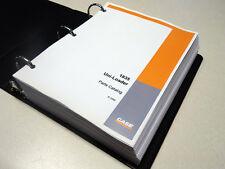 Case 1835 Uni-Loader Skid Steer Parts Catalog, Manual, List, Book, NEW w/Binder