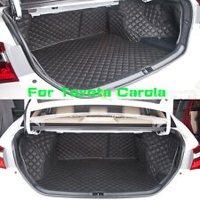 Trunk Boot Liner For Toyota Corolla 2007-2013 Year Auto Cargo Trunk Mats Carpet