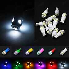 100Pcs DC 24V Mix Colors T10 5SMD 5050 LED bulb Side Plate Light W5W 168 192 194