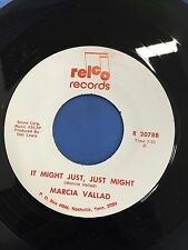 MARCIA VALLAD BLUER THAN BLUE VINTAGE ORIGINAL 45 RPM RECORD R 2078A
