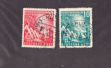 GERMANY SC# 665-66 VF USED STAMPS FULL SCHILTZ CANCEL CV$ 45