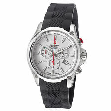 Swiss Alpine Military Men's Red Force Rubber Strap Quartz Watch 1635.9832 SAM