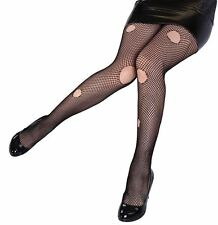 Ripped Fishnet Tights, Punk/Zombie, Halloween Fancy Dress Accessory