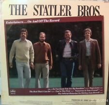 The Statler Brothers.Entertainers On And Off The Record. 12 inch 33 rpm