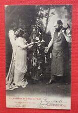 CPA. 1904. Cadeaux de l'Ange de Noël. Une COMPAS D'OR au TRAVAILLEUR. Bergeret.