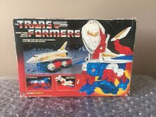 Transformers G1 1987 SKY LYNX Complete With box & styrofoam.  LOOK Hasbro