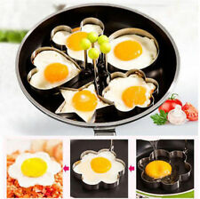 Simple Round Fried Eggs for breakfast Kitchen Tool Stainless DIY Gadgets