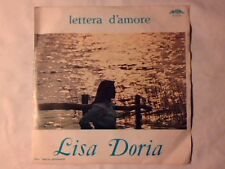 "LISA DORIA Lettera d'amore 7"" COME NUOVO LIKE NEW!!!"