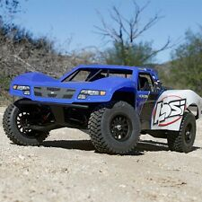 Team Losi Baja Rey 1/10 Brushless RTR Trophy Truck w/AVC BLUE Body FREE SHIPPING