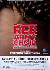RED ARMY CHOIR - 2014 - Konzertplakat - In Concert - Tourposter