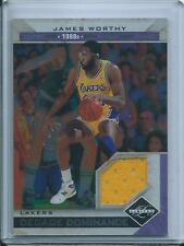 James Worthy 2011-12 Panini Limited Decade Dominance Jersey Card /49