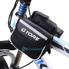 Bike Bicycle Cycling Mountain Frame Front Tube Pannier Saddle Phone Bag Pouch