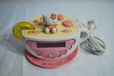 HELLO KITTY SANRIO DIGITAL TEA CUP ALARM CLOCK RADIO