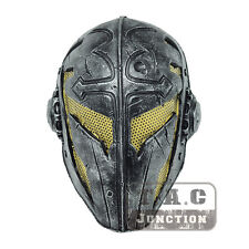 Tactical Airsoft Paintball CS Full Face Protection Cosplay Knights Templar Mask