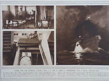 1914 P&O CRUISER CHINA TRANSFORMED INTO RED CROSS HOSPITAL SHIP WWI WW1