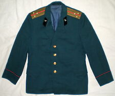 Vintage Russian Soviet Officer Army USSR Uniform Parade Jacket  Military Tunic L