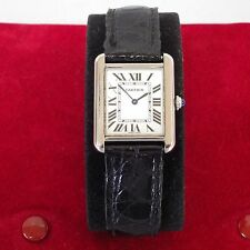 CARTIER LADIES TANK SOLO REF. 2716 QUARTZ WATCH / OROLOGIO AL QUARZO