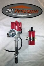 CHEVY SMALL BLOCK + BIG BLOCK RED FEMALE Small Cap HEI Distributor + RED COIL
