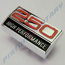 250 HIGH PERFORMANCE ,GUARD BADGE NEW,for Ford Falcon XY 2V Inline 6 Fairmont GT