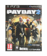 Payday 2 for Playstation 3 PS3 - UK Preowned - FAST DISPATCH