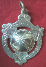 Irish Silver Medal or Fob  - Gaelic Football - Dublin 1956 not engraved