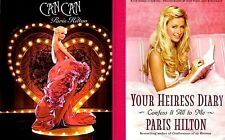 Paris Hilton Perfume Can Can + Your Heiress Diary 2005 MT Movie TV Photo Book