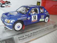 SLOT SRC OSC Ref. 03601 Peugeot 205T16  Tour de Corse 1985  1/32 NEW