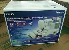 NIB !! Brother SE425 Computerized Embroidery & Sewing Machine * NEW In BOX*