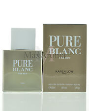Pure Blanc For Men By Karen Low Eau De Toilette Spray 3.4 oz