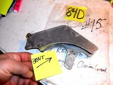 1983 SUZUKI RM250 DAMAGED BENT CHAIN GUIDE SLIDER
