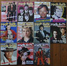 Revue magazine musique ROCK & FOLK année 1983 84 85 11n°