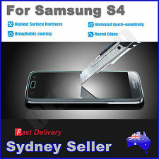 f4 Scratch Resist Tempered Glass Film Guard Screen Protector for Samsung S4 sps4