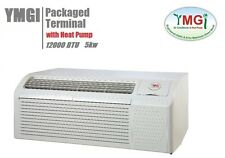 YMGI 12000BTU PACKAGED TERMINAL AIR CONDITIONER W HEAT PUMP 265-277V 5KW HEATER