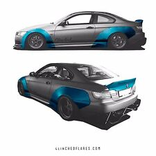 Clinched BMW e92 2-door widebody kit